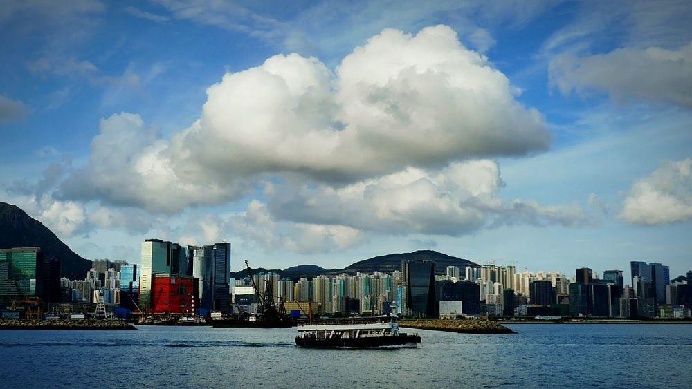 cloud. Hong Kong Discoverhongkong DMC_CM1 Leica Mobile Photography Clouds And Sky Sky Hunghom 16x9photography Pro Hdr
