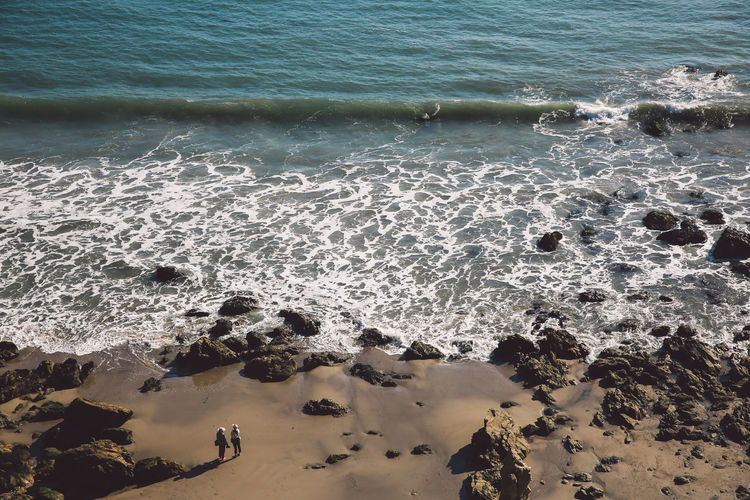 California El Matador Beach Pacific Beach Beauty In Nature Day High Angle View Nature No People Ocean Outdoors Rock - Object Sand Scenics Sea Shore Tranquility Water Wave Done That. Been There. Lost In The Landscape Connected By Travel California Dreamin