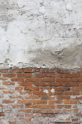 half brick wall half plaster wallpaper Old Wall Texture Background Material Stonewall Stone White Bricks Plaster Half Wallpaper Damaged Architecture Aged Cement Construction Destroyed Cracked Vintage Plastered Blocks Weathered Exterior Concrete Grungy Stucco House Brickwork  Bright Antique Design Grunge Street Building Dirty Retro Pattern Broken Abstract Worn Rough Obsolete Surface Grained Faded Clay Vertical Building Exterior Textured Effect