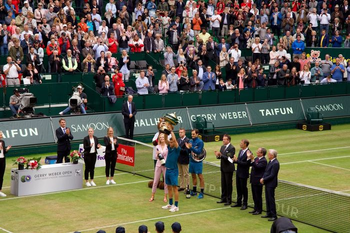 Gerry Weber Open Halle Westfalen Gerryweber Federer Group Of People Match - Sport Spectator Event Stadium Competition Watching