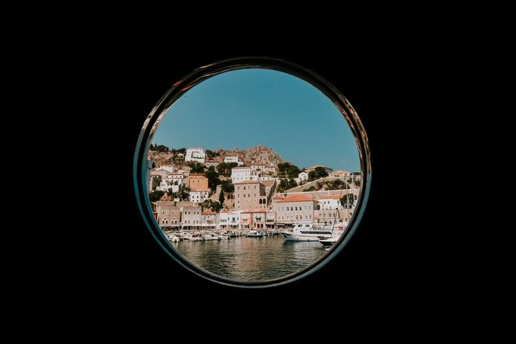 EyeEm Best Edits Island Islandlife Greece Window Circle Frame City Beautiful House Houses Architecture Built Structure Building Exterior Vacations Tourist Destination EyeEm Gallery The Week On EyeEem Cruise Ship EyeEmBestPics Fujifilm_xseries Fujifilm Lifestyles Summer Exploratorium It's About The Journey
