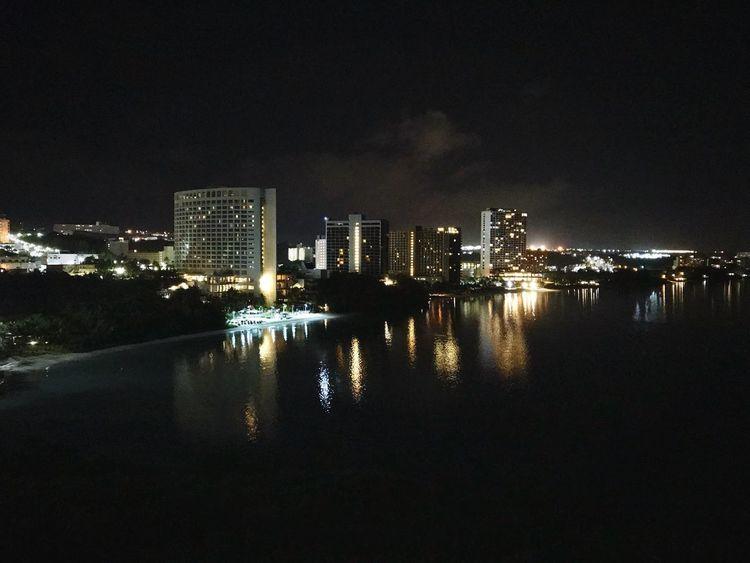 Tumon Beach Night Guam