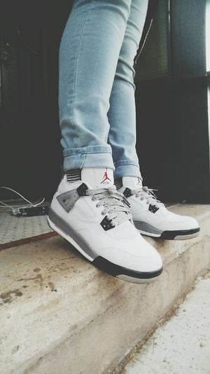 Cement4s Airjordan4 Girls