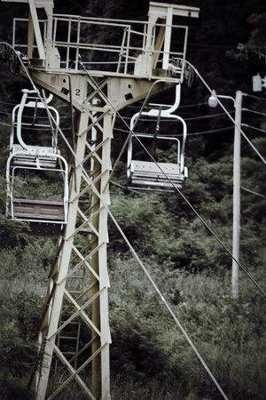 Abandoned Amusement Park No People Day Outdoors Architecture Abandoned Places Desolate Exploring Adventure Mountain Ski Lift Spooky