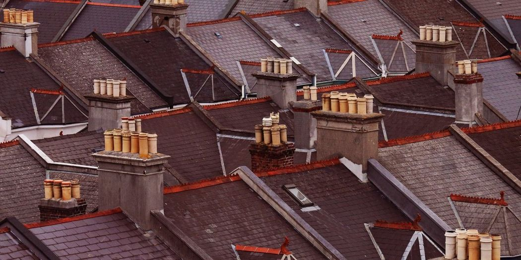 Aerial View Of Rooftops