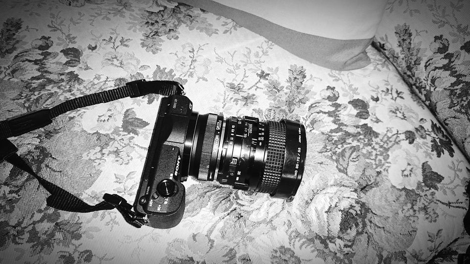 Sony A5100 Minolta Lens Black And White Human Meets Technology Sony Xperia Z2
