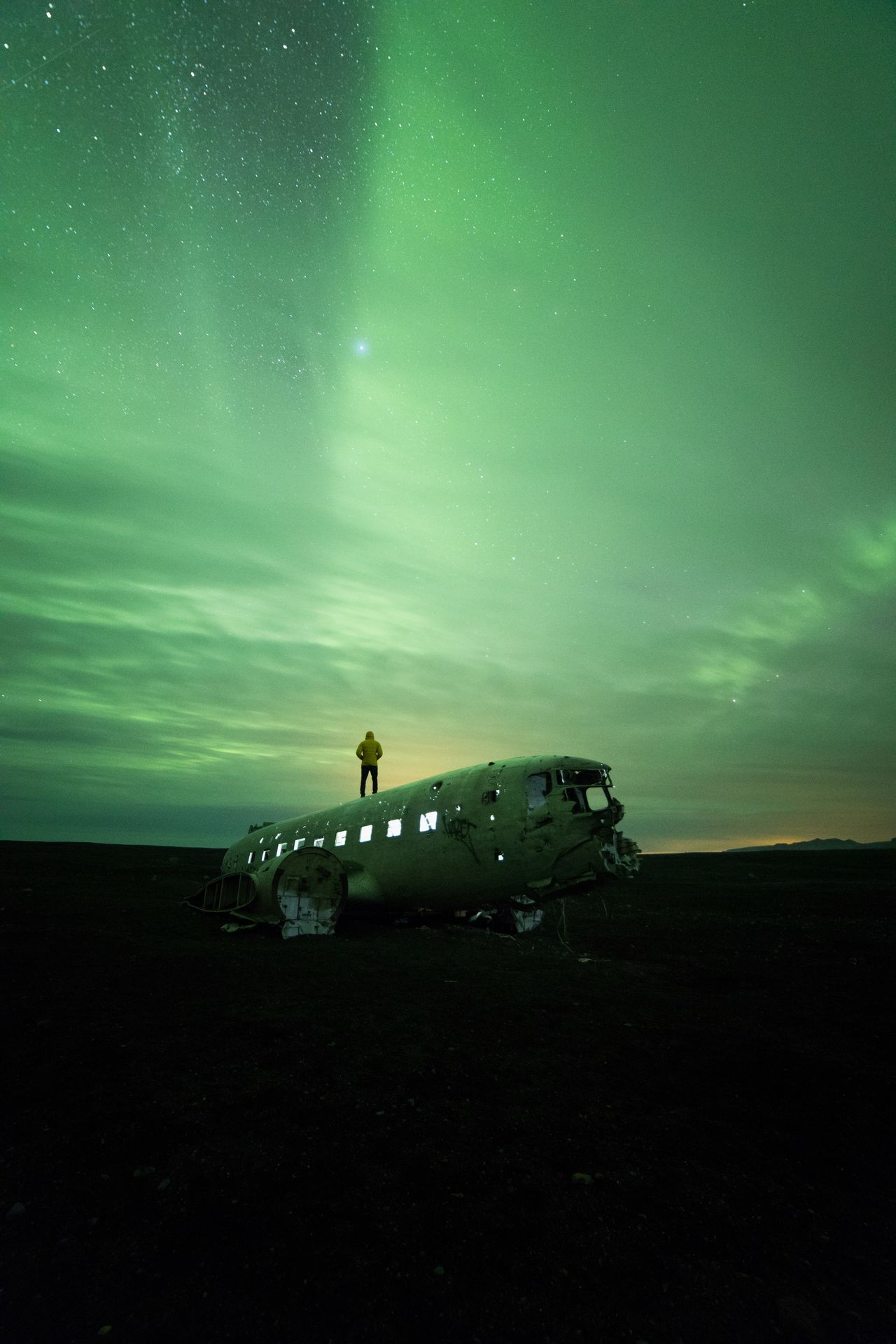 Abandoned,  Accidents And Disasters,  Airplane Crash,  Astronomy,  Aurora Borealis