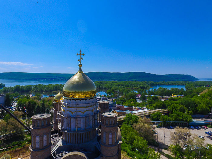 Architecture DJI Phantom 3 Advanced Religion Russia россия Samara, Russia