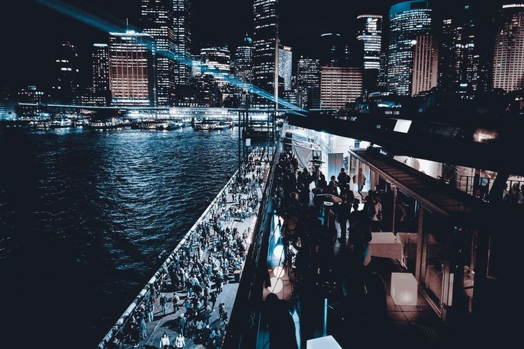 Urban Landscape Sydney Harbour  City Circular Quay