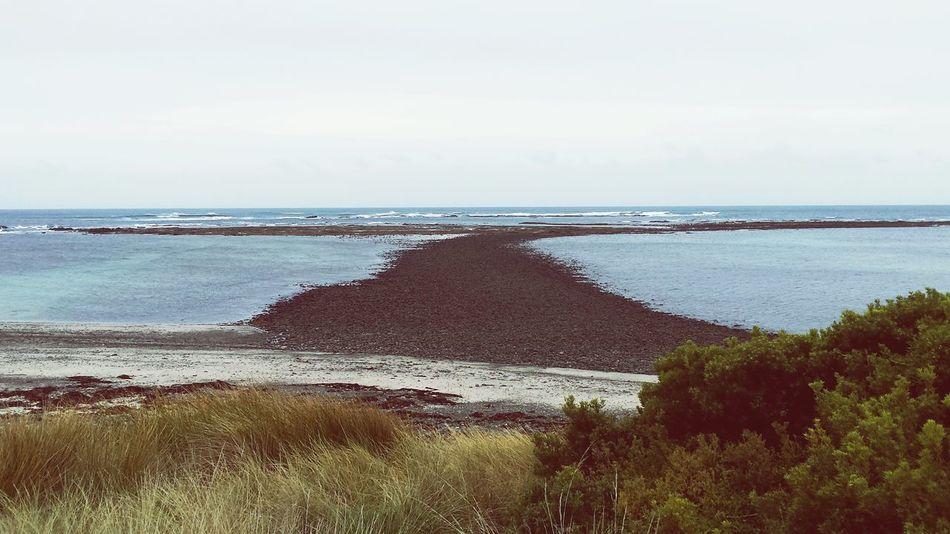 Winter Beach Tidal Rock Formations Rocky Sandbar Low Tide First Eyeem Photo My First Pic On EyeEm