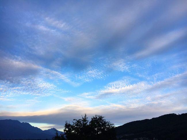 20171005 Good Morning Sky イマソラ 青空 空 雲