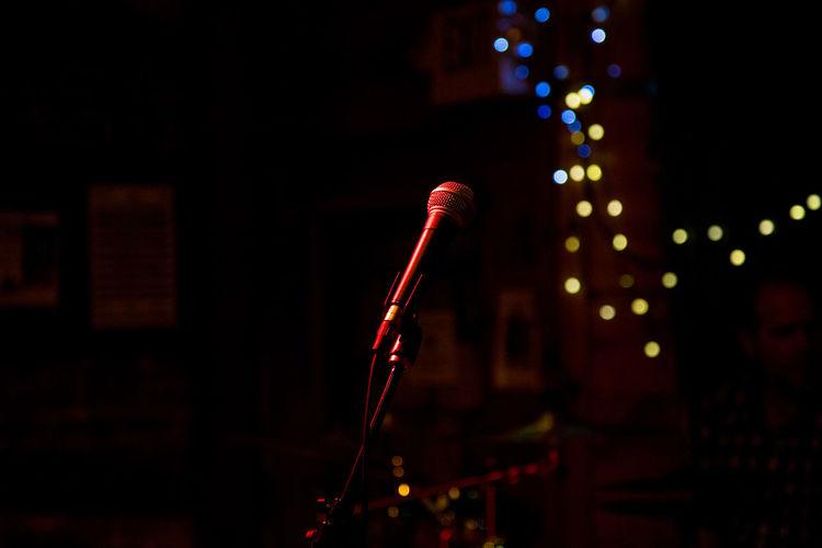 Confidence  Dark Mic Music Sing Bar Microphone Openmic Poetry Rap Speak