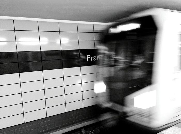 Day 241 - 🌮 Berlin Blackandwhite Public Transportation Ubahn Frankfurtertor 365project 365florianmski Day241