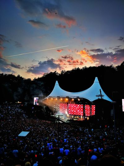 Beatsteaks Berlin Concert Festival Illuminated Outdoors PeacexPeace Purple Skies Purple Sky PxP Sky Sunset The Great Outdoors - 2016 EyeEm Awards Waldbühne