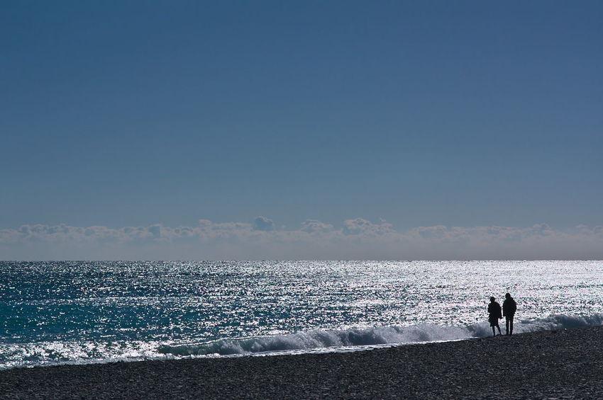 いい雰囲気の2人 Shine Bright Beach Sea People Two People Outdoors Beauty In Nature Nature Sky