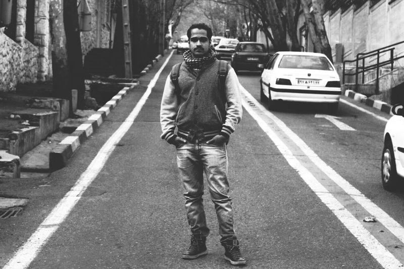 Hello World Tehran Me :)  Street Unique