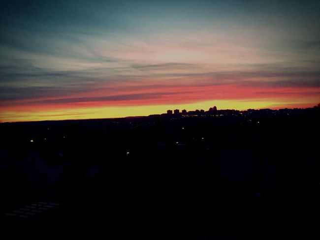 Sunset November Taking Photos ☀️🌬