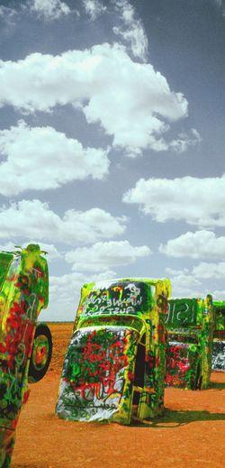 Cadillac Cadillac Ranch Cars Potter County Amarillo, TX Amarillo Fine Art Photography