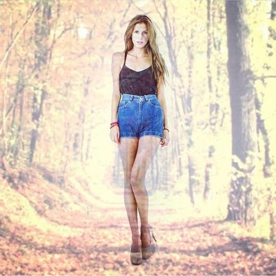 TheSXYS | Forest proyection Love Girl Beautiful cute fashion