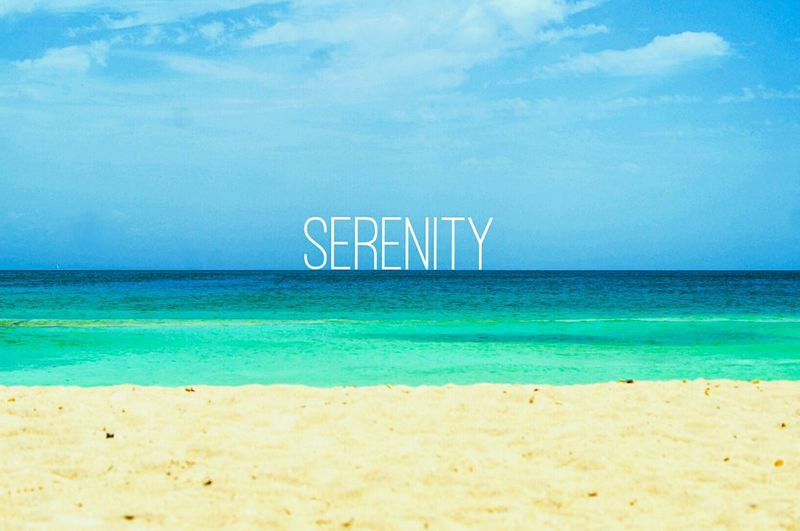 Serenity Beach Beachphotography Nature Outdoor Sand Sky Sea Blue Minimal We Love Summer