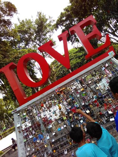 Padlock City Hall Bandung West Java Love ♥ Enjoying Life First Eyeem Photo