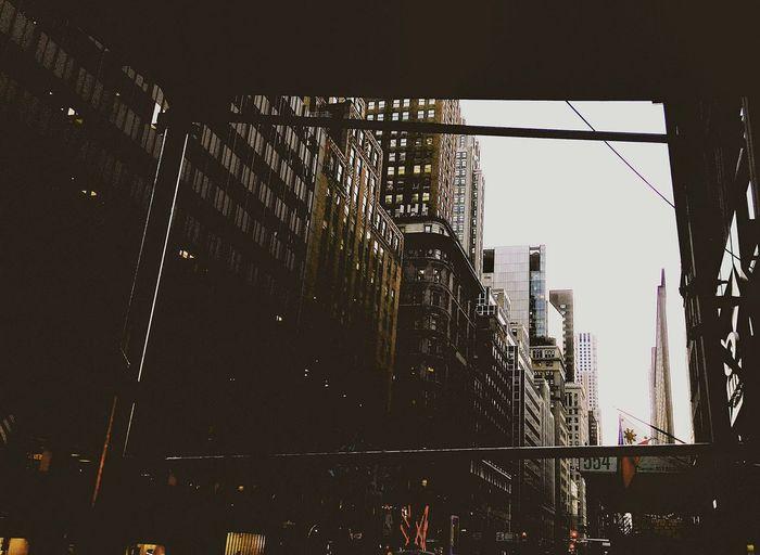 City Sunset Sky