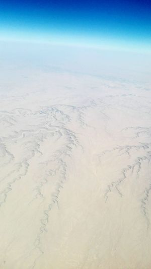 Sand Landscape No People Sand Dune Tranquility Beach Nature Scenics Outdoors Sky Clear Sky Day Beauty In Nature AirPlane ✈ View From My Window View From An Airplane Barren Landscape Dry Mountain Sandy Saudi Arabia