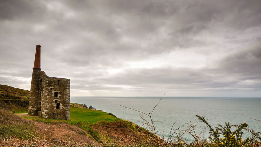 Wheal Prosper Architecture Beauty In Nature Building Exterior Built Structure Cornish Cornish Coast Cornwall Day Heritage History Horizon Over Water Mine Nature No People Old Ruin Outdoors Poldark Scenics Sea Sky Tin Tranquil Scene Tranquility Travel Destinations Water