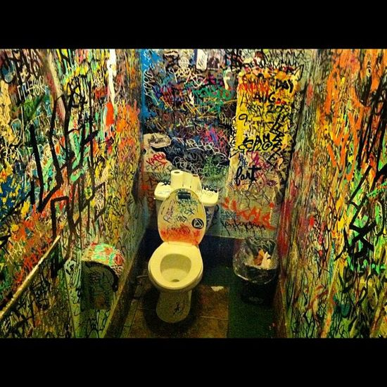 Pokez Sandiego SD Restroom tag graffiti streetart markers wow