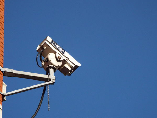 Big Brother Is Watching You Big Brother Security Camera Blue Sky Security Security Cam Securitycam Minimalism Minimalist Architecture