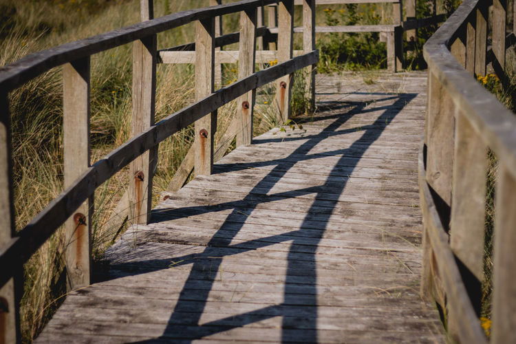 Architecture Built Structure Day Nature No People Outdoors Railing Shadow Sunlight Wood - Material