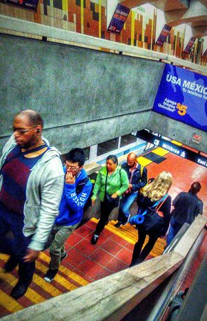 My Commute Transportation Center Public Transportation Subway Photography Bart Is Hiring Subway Station Morning Day Commute Bart Rider Stairs Bart Station 24th Street  San Francisco CA🇺🇸 Street Photography People Watching Pedestrians Walking Transportation Commuters Subway Train