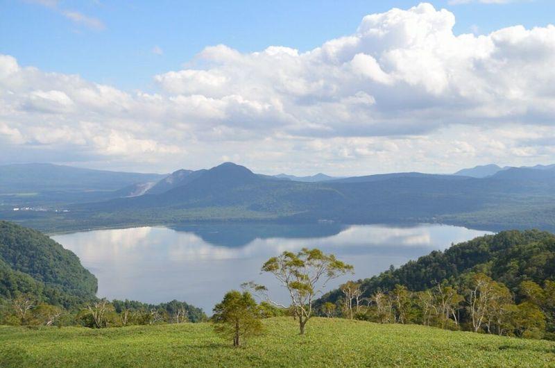 日本じやないみたい… Hokkaido Kussharo-ko Lake Highland-koshimizu Lake View Nikon Nikon D5100  Nature Clouds And Sky Mountain Lake