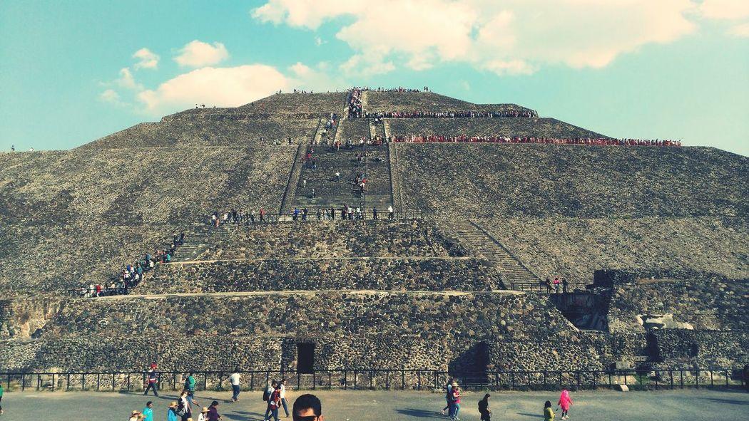 Piramid Pirámides De Teotihuacan Piramide Del Sol Mexico