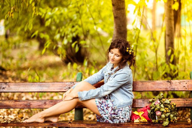 Portrait Of A Friend Gerl EyeEm Best Shots Autumn Colors
