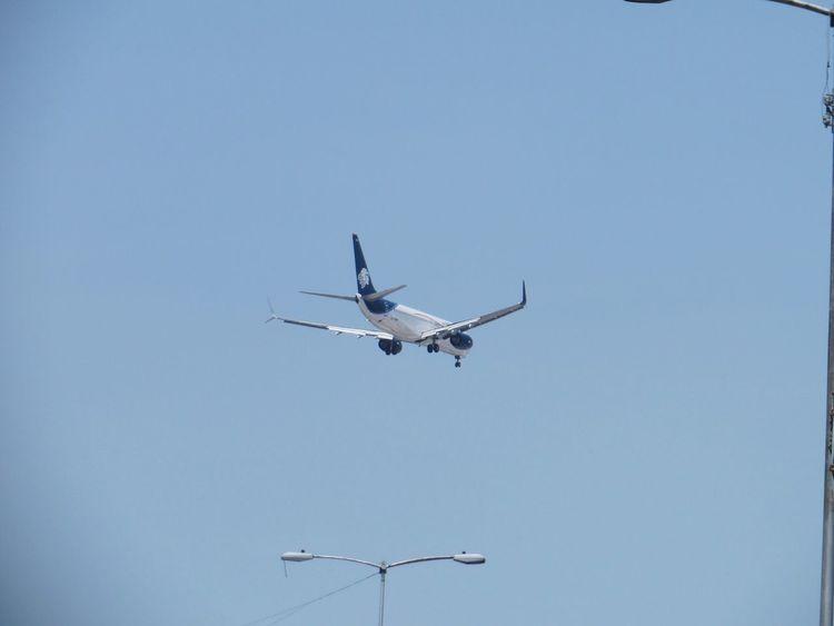 Flying like... Enjoying Life Taking Photos Airplane Mexico City Airport Aeromexico Bigbird White Nofilter