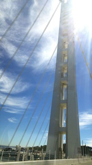 Taking Photos Travel Bay Bridge Car Ride  Check This Out Hanging Out Bayareaphotography Bridge - Man Made Structure