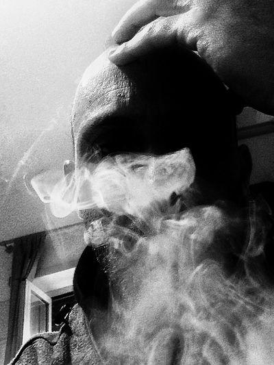 Blackandwhite Black & White Smooking Weed Smoke Weed