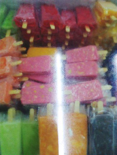 Ice Popsicle Ice Cream Ice Cream Store Delicius♥ Tasty Multi Colored Close-up