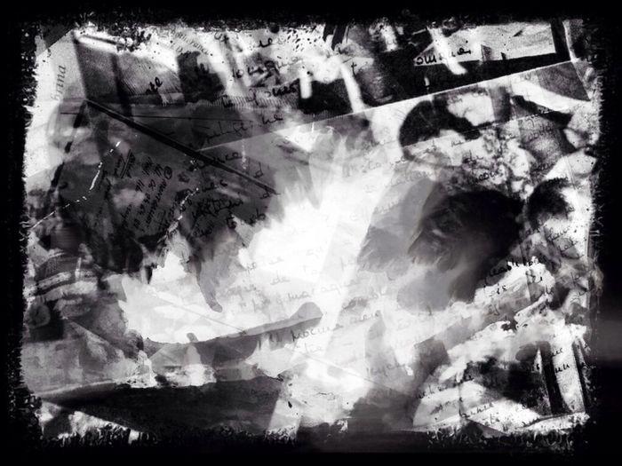 Burning the past with Pyromantic Bnw_friday_eyeemchallenge Multiple Layers
