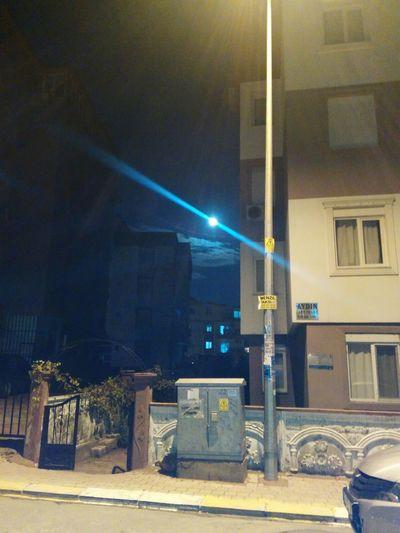Night No People Illuminated City Sky Ay Dolunay🌛 Moon Beatiful