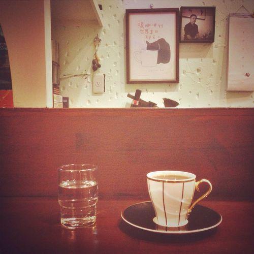 喝咖啡到世界末日。 Coffee Coffee Time