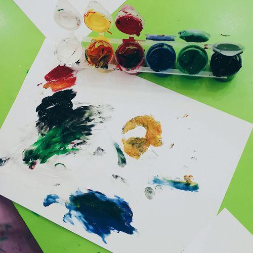 Painting Art Finger Painting Kindergarten Art EyeEm Best Shots VSCO Eye4photography  Photooftheday EyeEm Best Edits