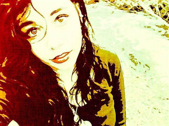 Paint Edit Myself pre-edit self portrait Nature Lover
