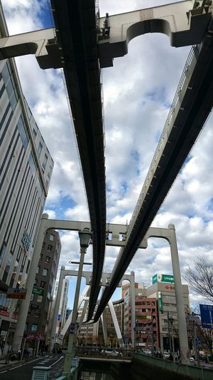 Street Photography Looking Up Cityscapes Urban Photography Monorail  Buildings 千葉都市モノレール ( Chiba Urban Monorail ) Walking Around Hello World Enjoying Life