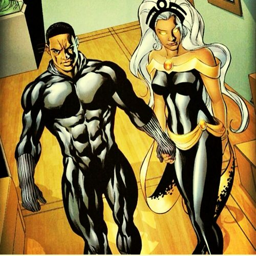Black Panther &Storm Marvel Legends My Fav Female Marvel Power Couple❤💋