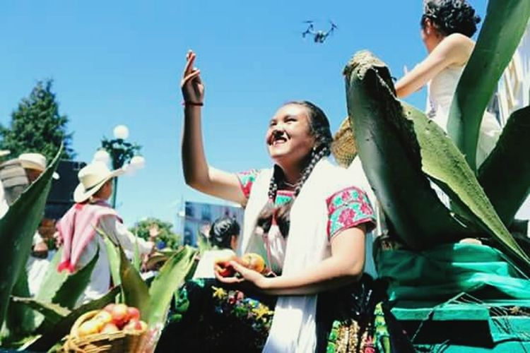 Traditional Culture Women Mexican Cultura Mexicana Festivals