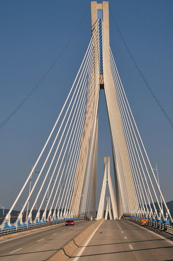 Architecture Bridge Bridge - Man Made Structure Built Structure Cable-stayed Bridge Clear Sky Connection Long Road Sky Suspension Bridge The Way Forward Transportation Travel Travel Destinations A New Beginning