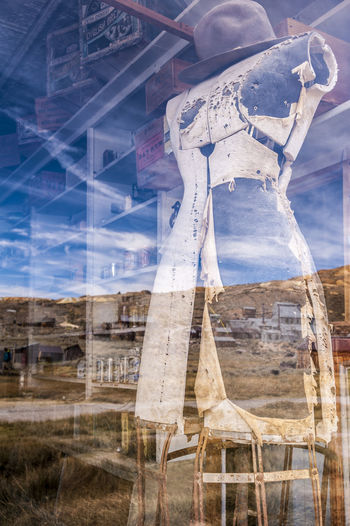 Reflection Bodie Abandoned Lost Places Lostplaces Reflection Capture Tomorrow Sky Old Ruin Ancient Civilization EyeEmNewHere
