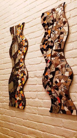 Mosaics made by